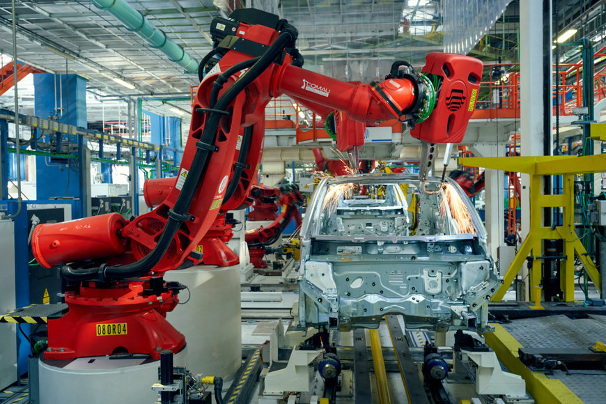 The Robot Revolution in Manufacturing Industry
